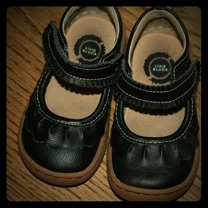 Livie and Luca Black Ruche size 5